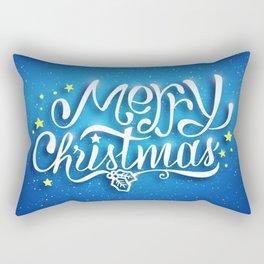 We wish you a merry christmas! Rectangular Pillow