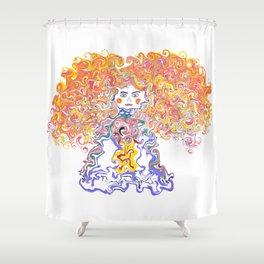 Rainbow Body Shower Curtain