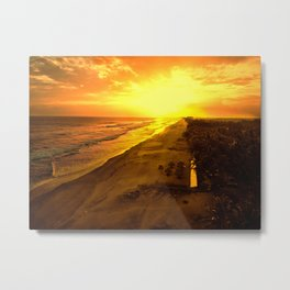 Goodbyecation Metal Print