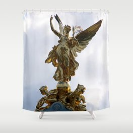 Ànother Golden Angel Shower Curtain