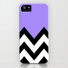 PURPLE COLORBLOCK CHEVRON Slim Case iPhone (5, 5s)