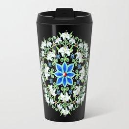 Folkloric Flower Crown Travel Mug