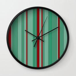Color's Waterfalls_Mint Wall Clock