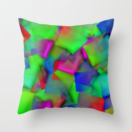 Softly cubism ... Throw Pillow