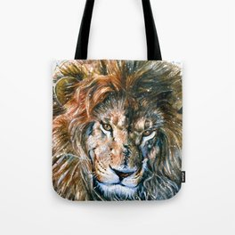 Lion Wild and Free Tote Bag
