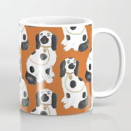 Staffordshire Dog Figurines No. 2 in Terracotta Coffee Mug