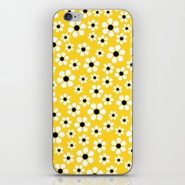 Dizzy Daisies - Yellow - more colors iPhone Skin