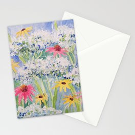 JUBILANT BOUQUET Stationery Cards