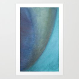 Planet Curve Art Print