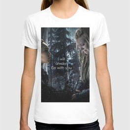 """Clexa: """" I will always be with you"""" T-shirt"""