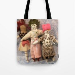 Three sisters marching Tote Bag