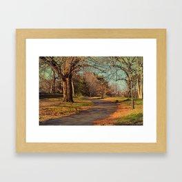 endings. Framed Art Print