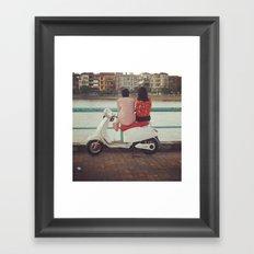 In the lake Framed Art Print