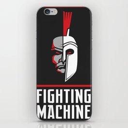 Fighting Machine 4 iPhone Skin