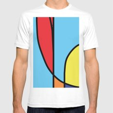 Untitled titulable White SMALL Mens Fitted Tee