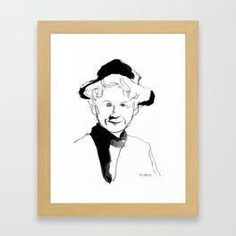 Alice Munro (writer) Framed Art Print