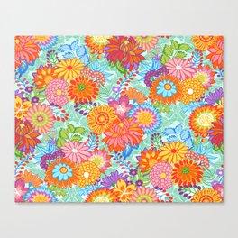 Jubilee Blooms Canvas Print