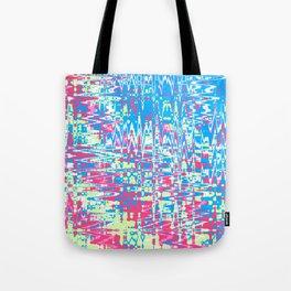 Distorted Reef Blue - Coral Reef Series 019 Tote Bag