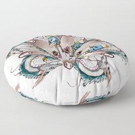 Spirited Away Mandala Floor Pillow