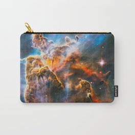 Carina Nebula, Galaxy Background, Universe Large Print, Space Wall Art Decor, Deep Space Poster Carry-All Pouch