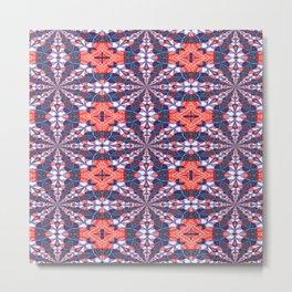 Vibrational Pattern 10 Metal Print