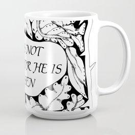 Christian Easter Message Coffee Mug