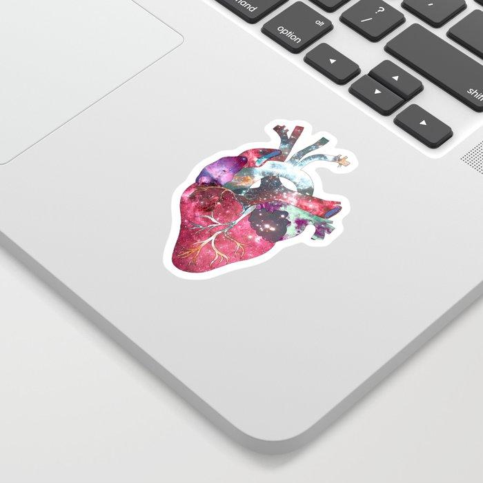 Superstar Heart (on grey) Sticker