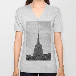 Empire State Building II Unisex V-Neck