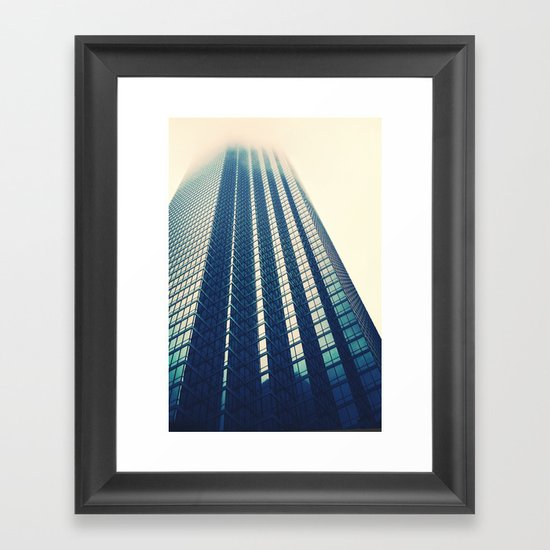 the Grid Framed Art Print