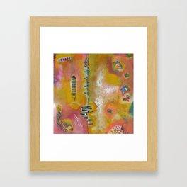 Sunny Disposition Framed Art Print