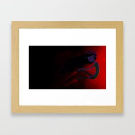 Vampire Queen Framed Art Print