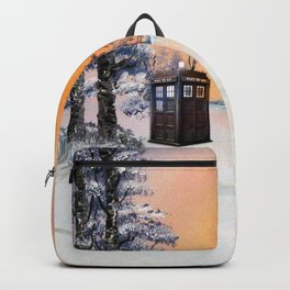 Tardis Dr Who Backpack