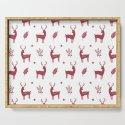 Christmas Red Reindeers by emilydownward