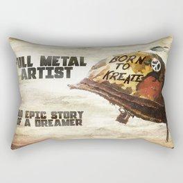Full metal artist Rectangular Pillow