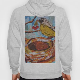 La Belle Bird & Nest Hoody