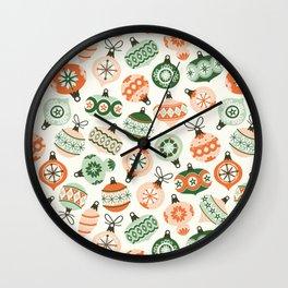 Vintage Ornaments Wall Clock