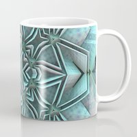 snowflake Mugs featuring Snowflake by Lyle Hatch