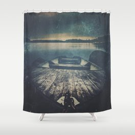 Dark Square Vol. 9 Shower Curtain
