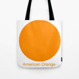 American Orange Tote Bag