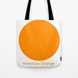 American Orange Tote Bag