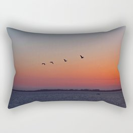 And to All a Good Night Rectangular Pillow