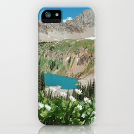 The Blue Lakes of Colorado iPhone Case