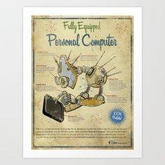 Personal Computer - Canvas Art Print