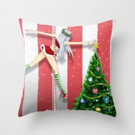 December 2017 Throw Pillow
