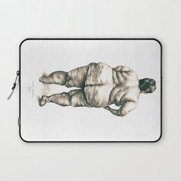 mujer en la ducha Laptop Sleeve