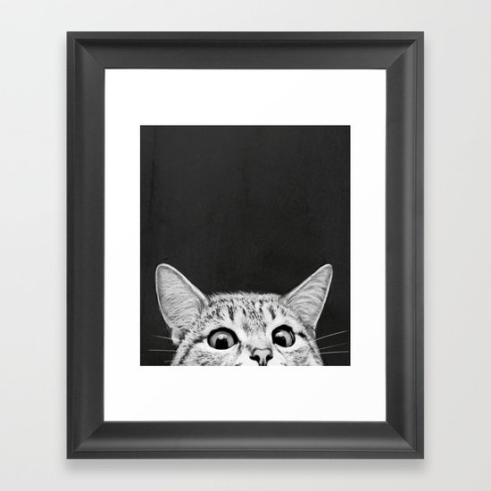 You asleep yet framed art print by laura graves society6 for Wall art pictures