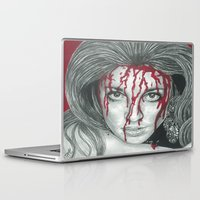kris tate Laptop & iPad Skins featuring Sharon Tate  by Jimmy Lee