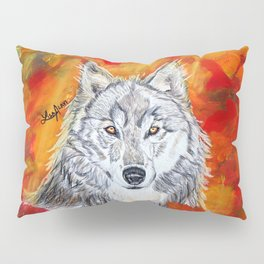 Autumn Wolf Pillow Sham