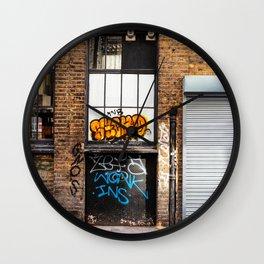 Shoreditch, London Wall Clock