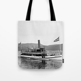 Vintage Mohican Steamboat Tote Bag